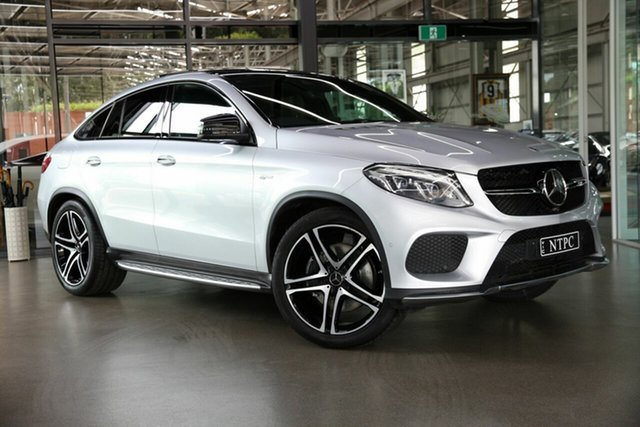 Used Mercedes-Benz GLE-Class GLE43 AMG Coupe 9G-Tronic 4MATIC, North Melbourne, 2017 Mercedes-Benz GLE-Class GLE43 AMG Coupe 9G-Tronic 4MATIC Wagon