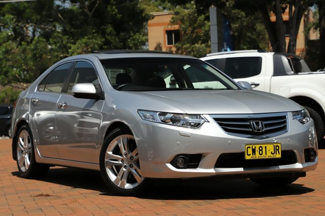 Used Honda Accord Euro Luxury Navi, Artarmon, 2012 Honda Accord Euro Luxury Navi Sedan