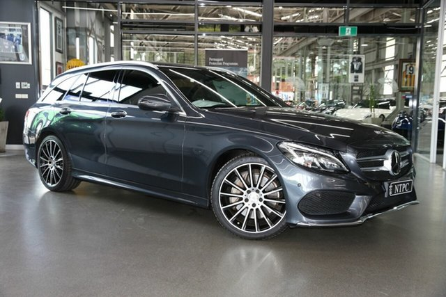 Used Mercedes-Benz C-Class C250 Estate 7G-Tronic +, North Melbourne, 2015 Mercedes-Benz C-Class C250 Estate 7G-Tronic + Wagon