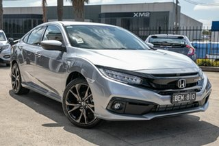 Demonstrator, Demo, Near New Honda Civic RS, Oakleigh, 2019 Honda Civic RS 10th Gen MY19 Sedan