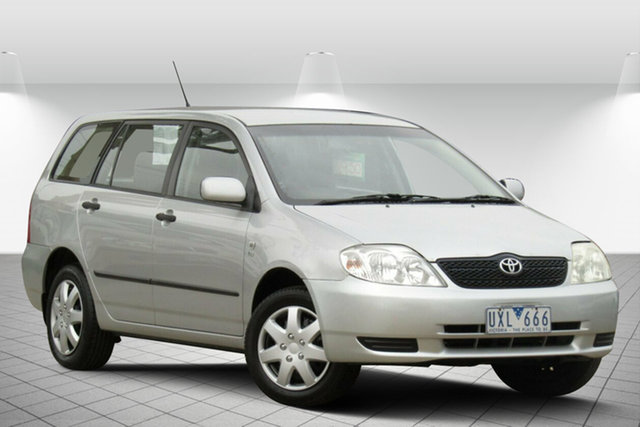 Used Toyota Corolla Ascent, Oakleigh, 2004 Toyota Corolla Ascent Wagon