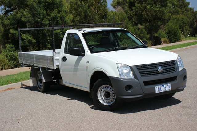 Used Holden Rodeo DX 4x2, Officer, 2008 Holden Rodeo DX 4x2 Cab Chassis