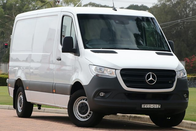 Discounted Demonstrator, Demo, Near New Mercedes-Benz Sprinter 316CDI Low Roof MWB 7G-Tronic + RWD, Warwick Farm, 2019 Mercedes-Benz Sprinter 316CDI Low Roof MWB 7G-Tronic + RWD Van