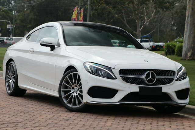 Used Mercedes-Benz C-Class C250 d 9G-Tronic, Warwick Farm, 2016 Mercedes-Benz C-Class C250 d 9G-Tronic Coupe