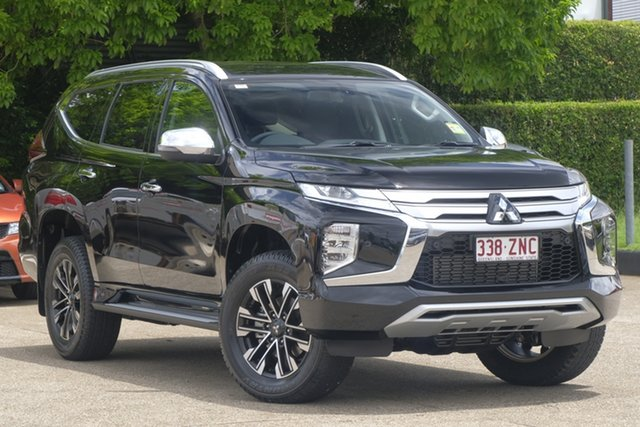 Demonstrator, Demo, Near New Mitsubishi Pajero Sport Exceed, Toowong, 2019 Mitsubishi Pajero Sport Exceed Wagon