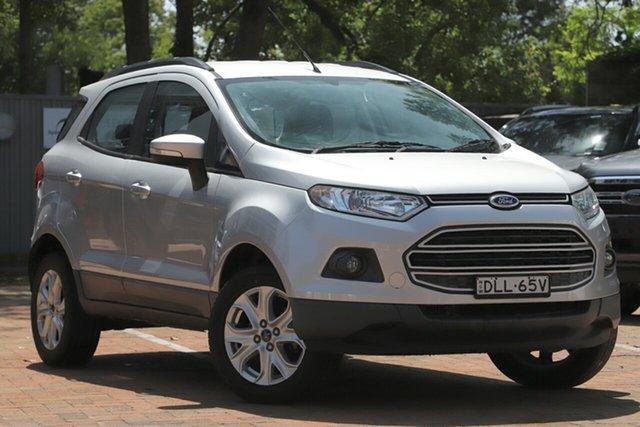 Used Ford Ecosport Trend, Artarmon, 2015 Ford Ecosport Trend Wagon