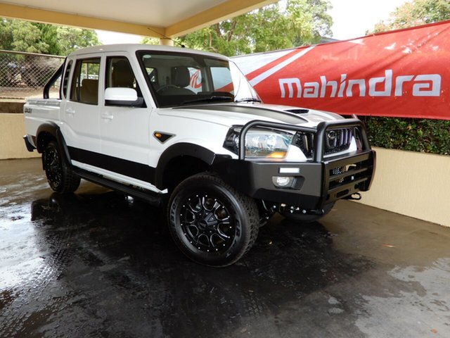 New Mahindra Pik-Up Black Mhawk 4WD Limited Edit., Toowoomba, 2019 Mahindra Pik-Up Black Mhawk 4WD Limited Edit. Dual Cab Utility