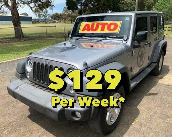 Used Jeep Wrangler Unlimited Sport, Cranbourne, 2016 Jeep Wrangler Unlimited Sport Softtop