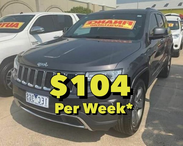 Used Jeep Grand Cherokee Limited, Cranbourne, 2015 Jeep Grand Cherokee Limited Wagon