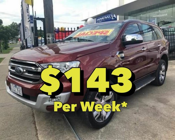 Used Ford Everest Titanium 4WD, Cranbourne, 2016 Ford Everest Titanium 4WD Wagon
