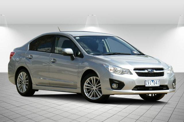 Used Subaru Impreza 2.0i-S Lineartronic AWD, Oakleigh, 2012 Subaru Impreza 2.0i-S Lineartronic AWD Sedan