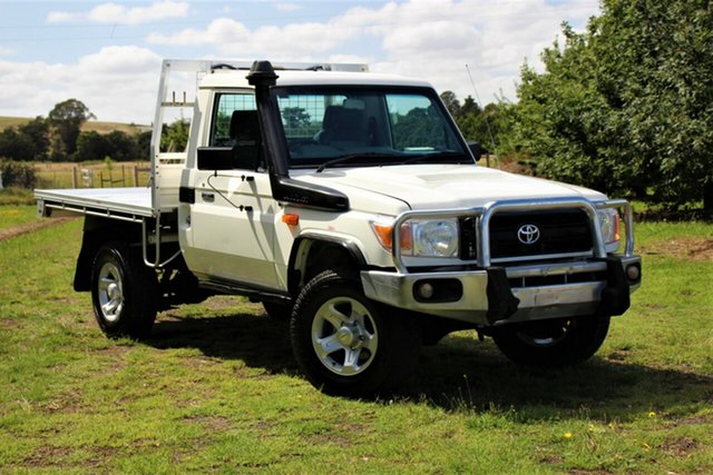 Used Toyota Landcruiser Workmate, Officer, 2013 Toyota Landcruiser Workmate Cab Chassis