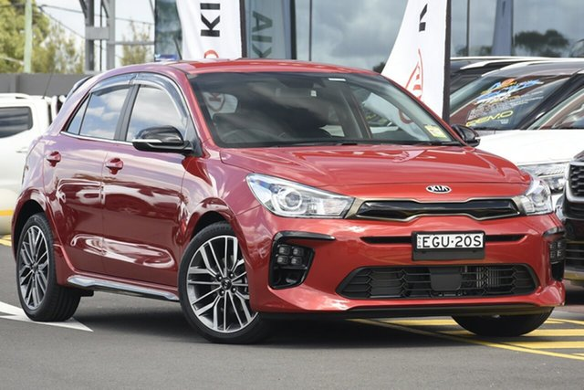 Demonstrator, Demo, Near New Kia Rio GT-Line DCT, Warwick Farm, 2019 Kia Rio GT-Line DCT Hatchback