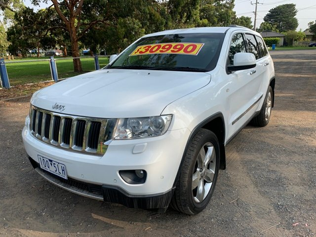 Used Jeep Grand Cherokee Limited, Cranbourne, 2013 Jeep Grand Cherokee Limited Wagon