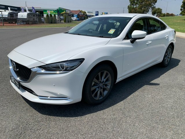Demonstrator, Demo, Near New Mazda 6, Warrnambool East, 2019 Mazda 6 Sedan
