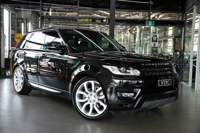 Used Land Rover Range Rover Sport SE, North Melbourne, 2017 Land Rover Range Rover Sport SE Wagon