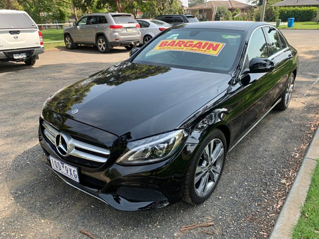 Used Mercedes-Benz C-Class C200 9G-Tronic, Cranbourne, 2017 Mercedes-Benz C-Class C200 9G-Tronic Sedan