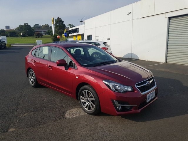 Used Subaru Impreza, Warrnambool East, 2016 Subaru Impreza Hatchback