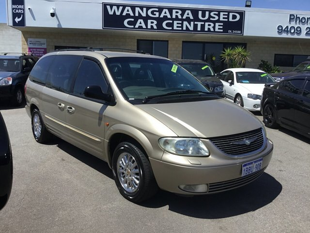 Used Chrysler Grand Voyager Limited, Wangara, 2002 Chrysler Grand Voyager Limited Wagon
