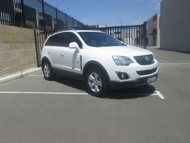 Used Holden Captiva Series II, O'Connor, 2012 Holden Captiva Series II Wagon