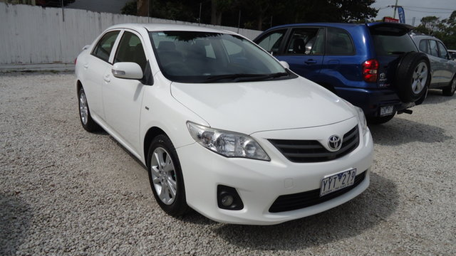 Used Toyota Corolla Ascent Sport, Seaford, 2012 Toyota Corolla Ascent Sport Sedan