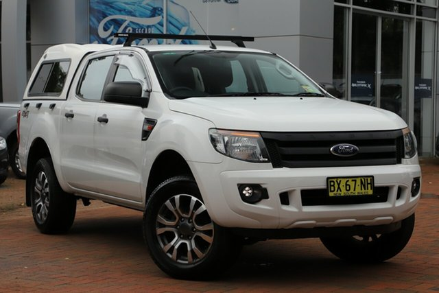 Used Ford Ranger XL Double Cab, Artarmon, 2013 Ford Ranger XL Double Cab Utility