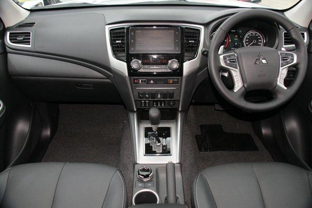 Demonstrator, Demo, Near New Mitsubishi Triton GLS Double Cab Premium, Toowong, 2019 Mitsubishi Triton GLS Double Cab Premium MR MY19 Utility