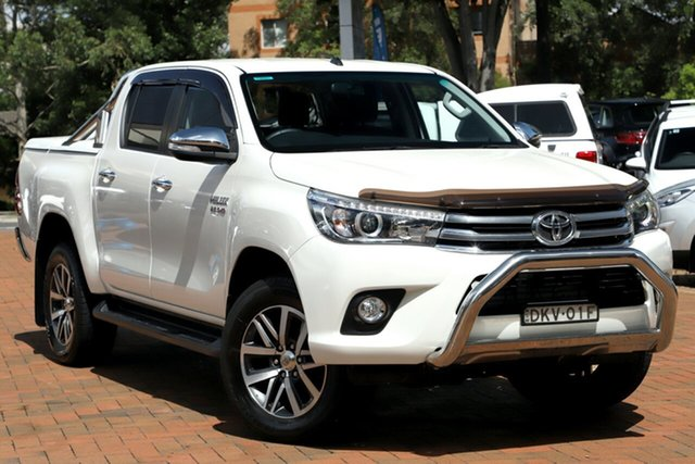 Used Toyota Hilux SR5 Double Cab, Artarmon, 2016 Toyota Hilux SR5 Double Cab Utility