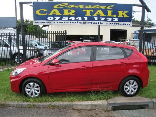 Used Hyundai Accent Active, Nambour, 2016 Hyundai Accent Active Hatchback