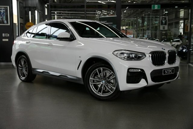 Used BMW X4 xDrive 20i M Sport X, North Melbourne, 2019 BMW X4 xDrive 20i M Sport X Coupe