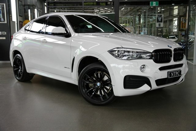 Used BMW X6 xDrive40d Coupe Steptronic, North Melbourne, 2017 BMW X6 xDrive40d Coupe Steptronic Wagon