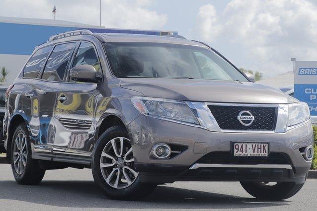 Used Nissan Pathfinder ST-L X-tronic 2WD, Toowong, 2013 Nissan Pathfinder ST-L X-tronic 2WD Wagon