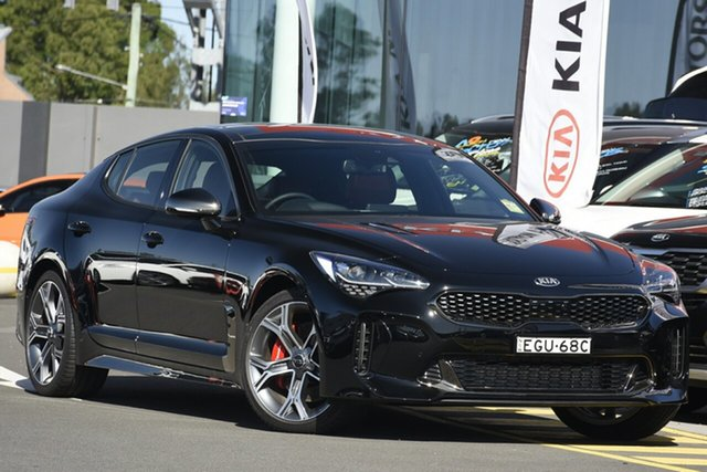 Demonstrator, Demo, Near New Kia Stinger GT Fastback, Narellan, 2019 Kia Stinger GT Fastback Sedan