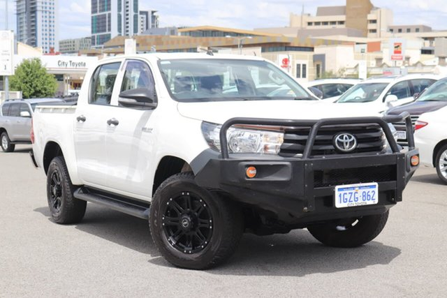 Used Toyota Hilux Workmate Double Cab, Northbridge, 2015 Toyota Hilux Workmate Double Cab Utility