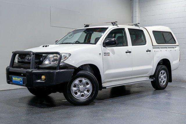 Used Toyota Hilux SR (4x4), Slacks Creek, 2011 Toyota Hilux SR (4x4) Dual Cab Pick-up