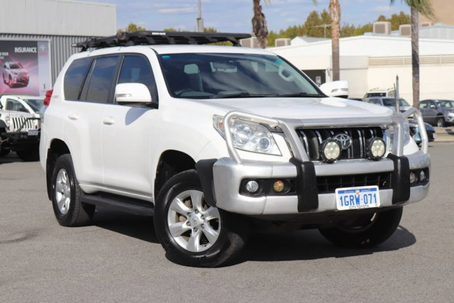 Used Toyota Landcruiser Prado GXL, Northbridge, 2010 Toyota Landcruiser Prado GXL Wagon