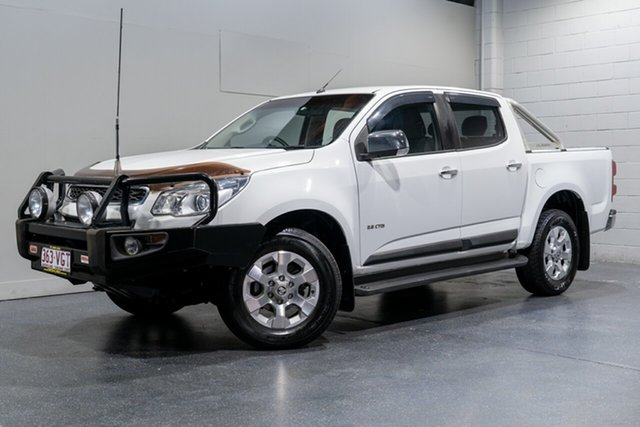 Used Holden Colorado LTZ (4x4), Slacks Creek, 2013 Holden Colorado LTZ (4x4) Crew Cab Pickup