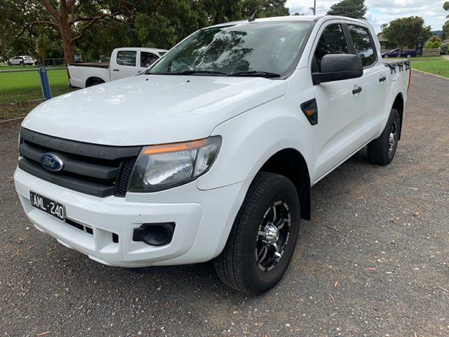 Used Ford Ranger XL Double Cab 4x2 Hi-Rider, Cranbourne, 2012 Ford Ranger XL Double Cab 4x2 Hi-Rider Utility