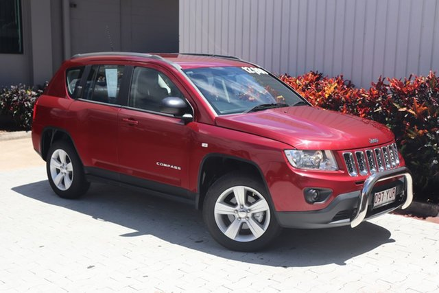 Used Jeep Compass Sport CVT Auto Stick, Cairns, 2012 Jeep Compass Sport CVT Auto Stick Wagon