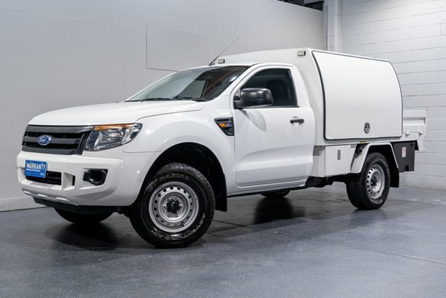 Used Ford Ranger XL 2.2 Hi-Rider (4x2), Slacks Creek, 2012 Ford Ranger XL 2.2 Hi-Rider (4x2) Cab Chassis