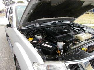 2012 Nissan Navara Utility.