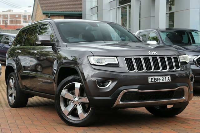 Used Jeep Grand Cherokee Limited, Artarmon, 2015 Jeep Grand Cherokee Limited Wagon