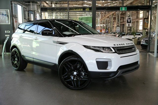 Used Land Rover Range Rover Evoque TD4 150 Pure, North Melbourne, 2017 Land Rover Range Rover Evoque TD4 150 Pure Wagon