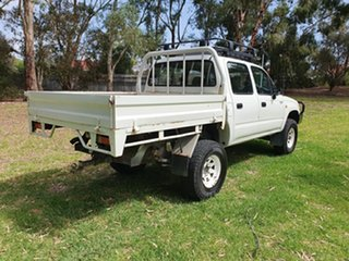2003 Toyota Hilux (4x4) Dual Cab Chassis.