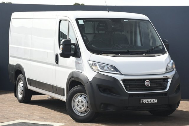 Discounted Demonstrator, Demo, Near New Fiat Ducato Low Roof MWB Comfort-matic, Warwick Farm, 2019 Fiat Ducato Low Roof MWB Comfort-matic Van