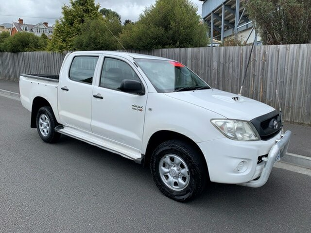 Used Toyota Hilux SR (4x4), North Hobart, 2009 Toyota Hilux SR (4x4) Dual Cab Pick-up