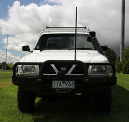 2001 Nissan Patrol DX Cab Chassis.