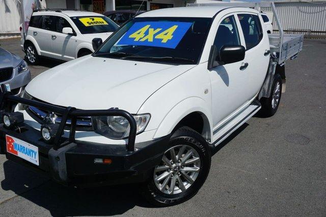 Used Mitsubishi Triton GLX Double Cab, Moorooka, 2014 Mitsubishi Triton GLX Double Cab Utility