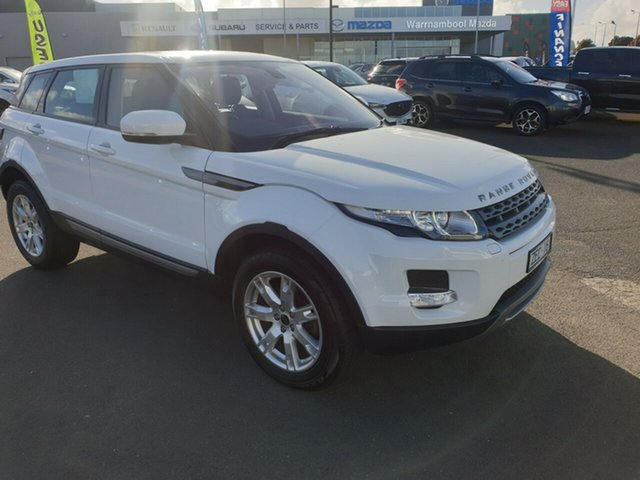 Used Land Rover Range Rover Evoque, Warrnambool East, 2012 Land Rover Range Rover Evoque Wagon
