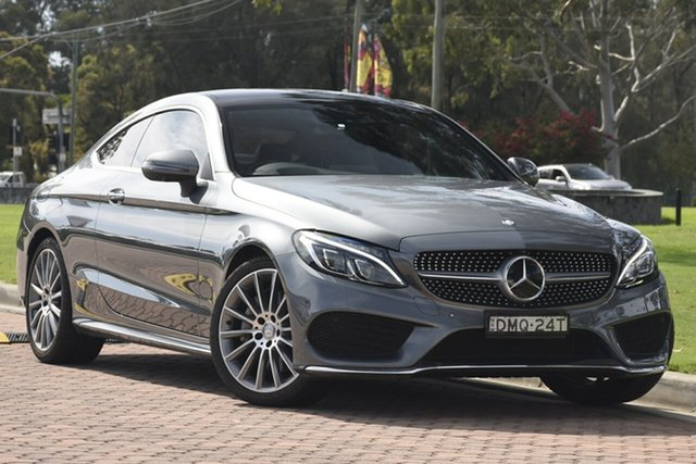 Discounted Used Mercedes-Benz C-Class C250 d 9G-Tronic, Warwick Farm, 2016 Mercedes-Benz C-Class C250 d 9G-Tronic Coupe